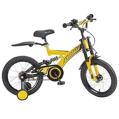 Why Should You Buy QiYue 2-5 Year Old Children's Bicycle, Girl Bicycle with Training Wheels and Roll...