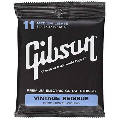 Gibson Gear tamaño mediano reedición Vintage cuerdas para guitarra eléctrica