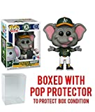Pop Sports MLB Mascots Oakland A's, Stomper #12 Action Figure (Bundled with Pop Box Protector to Protect Display Box)
