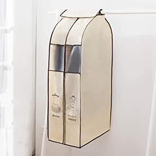 Dust cover Cache Anti-poussière en Trois Dimensions pour vêtements, Sac de Rangement, Poche à Suspendre, Housse de Protect...