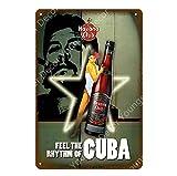 shovv Retro Bier Wein Pernod Ricard Blechschilder Havanna