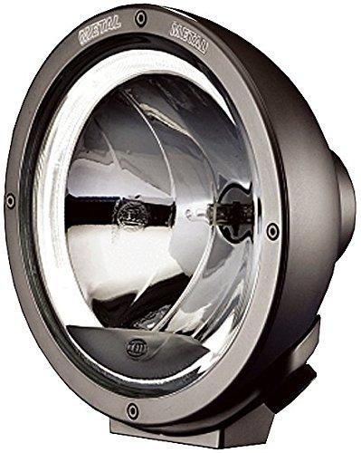 HELLA 1F8 007 560-201 Fernscheinwerfer - Luminator - H1 - 12V/24V - rund - Ref. 17,5 - glasklare Streuscheibe - transparent - Anbau - Einbauort: links/rechts