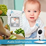 Zoom IMG-2 ghb baby monitor videocamera schermo