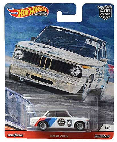 Hot Wheels BMW 2002 Door Slammers 4/5 Car Culture 1:64 GJP79 FPY86