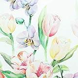 SIDCO Tischläufer Tulpe Ostern Tischdecke Läufer Blumen Tischband Frühling 40x140cm - 3