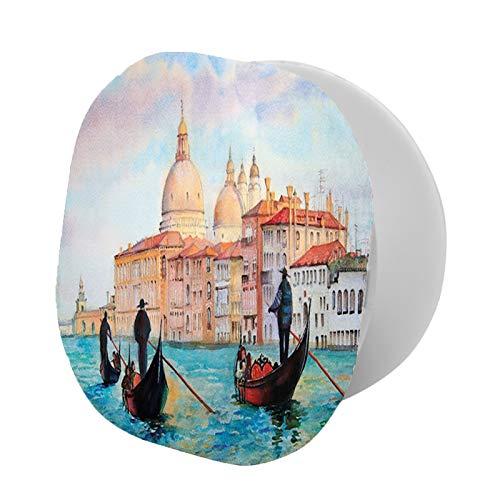Soporte universal para teléfono celular, pintura de acuarela de paisaje urbano sereno de Venecia, góndolas antiguas, se adapta y todos los teléfonos de 689 grados gira ajustable