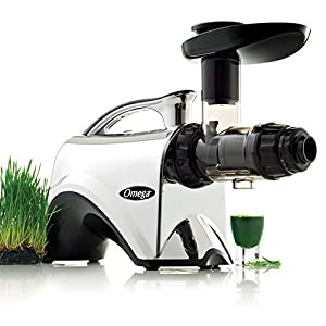 Omega NC900HDC Juicer Extractor and Nutrition System Creates Fruit Vegetable and Wheatgrass Juice Quiet Motor Slow… |
