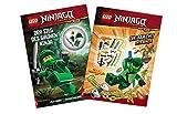 AMEET Lego Ninjago – Set de la victoria del ninja verde + El poder de las ninjas (cubierta blanda)