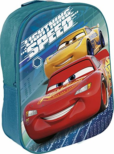 Star Licensing Disney Cars Rucksack für Kinder, 29 cm, mehrfarbig