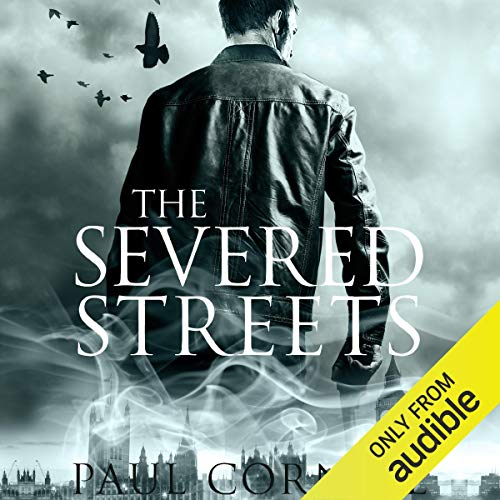 The Severed Streets audiobook cover art