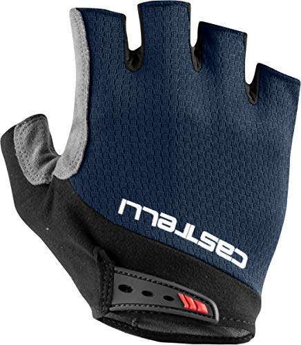 Castelli Cycling Entrata V Glove for Road and Gravel Biking l Cycling - Savile Blue - X-Small