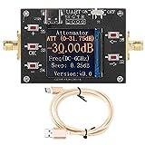 Attenuatore digitale controllato da programma 6G Attenuatore display TFT CNC da 0,25 dB Modulazione del segnale da 50 ohm per apparecchiature elettroniche