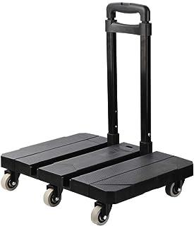 حقيبة تغليف YXZQ، قابلة للطي وخفيفة الوزن ومتينة عربة سفر | حاملة للمعدات الرياضية والطبية ذات العجلات الهادئة