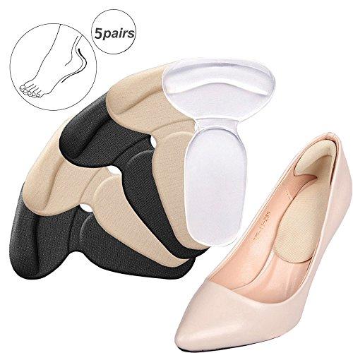 靴ずれ防止 かかとパッド 靴擦れ ジェルクッション インソール T