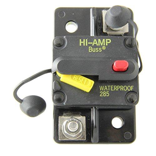 Bussmann CB285-40 Surface-Mount Circuit Breakers, 40 Amps (1 per pack)