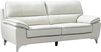Amazon.com: Benjara BM194522 - Sofá tapizado de piel ...