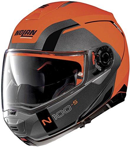 Nolan N100-5 Consistency N-Com Klapphelm M (58) Orange