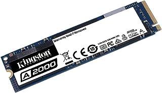 Kingston A2000 SA2000M8/250G Internal Solid State Drive, SSD M.2, 250 GB, PCI Express 3.0, 2280 NVMe