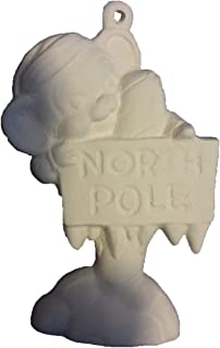 Mouse on North Pole Sign 3