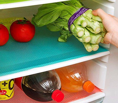 4220 Set 3 tapetes recortables frigorífico anti-moho