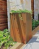 Bentintoshape Columnar Corten Planter