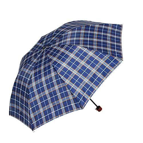 MXH paraplu winkel Plaid paraplu vouwen buiten zonnescherm paraplu