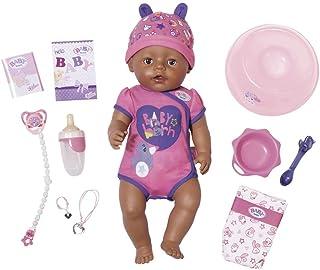Baby Born - Muñeca bebé Niña con 9 funciones (Bandai 822029)