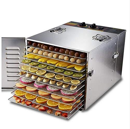 Buy Discount MICHEN Stainless Steel Food Dehydrator Fruits Vegetable Herb Drying Machine Snacks Meat...