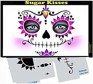 Face Painting Stencil - StencilEyes Sugar Kisses
