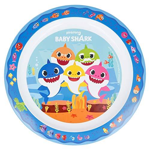 Baby Shark Piatto Piano per Bambini da Microonde