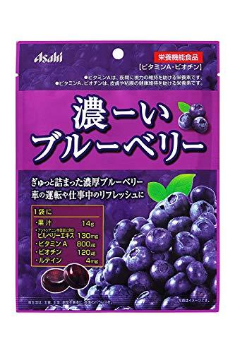 アサヒグループ食品 濃ーいブルーベリー 84g×4袋