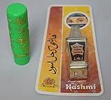 pack 1 pintalabios mágico con aroma verde + 1 khol árabe delineador,kajal natural con aplicador integrado (polvo, negro)