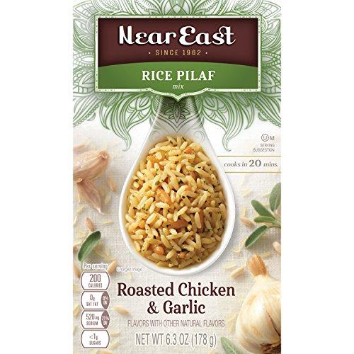 Near East Roasted Chicken And Garlic Pilaf, 6.3 oz