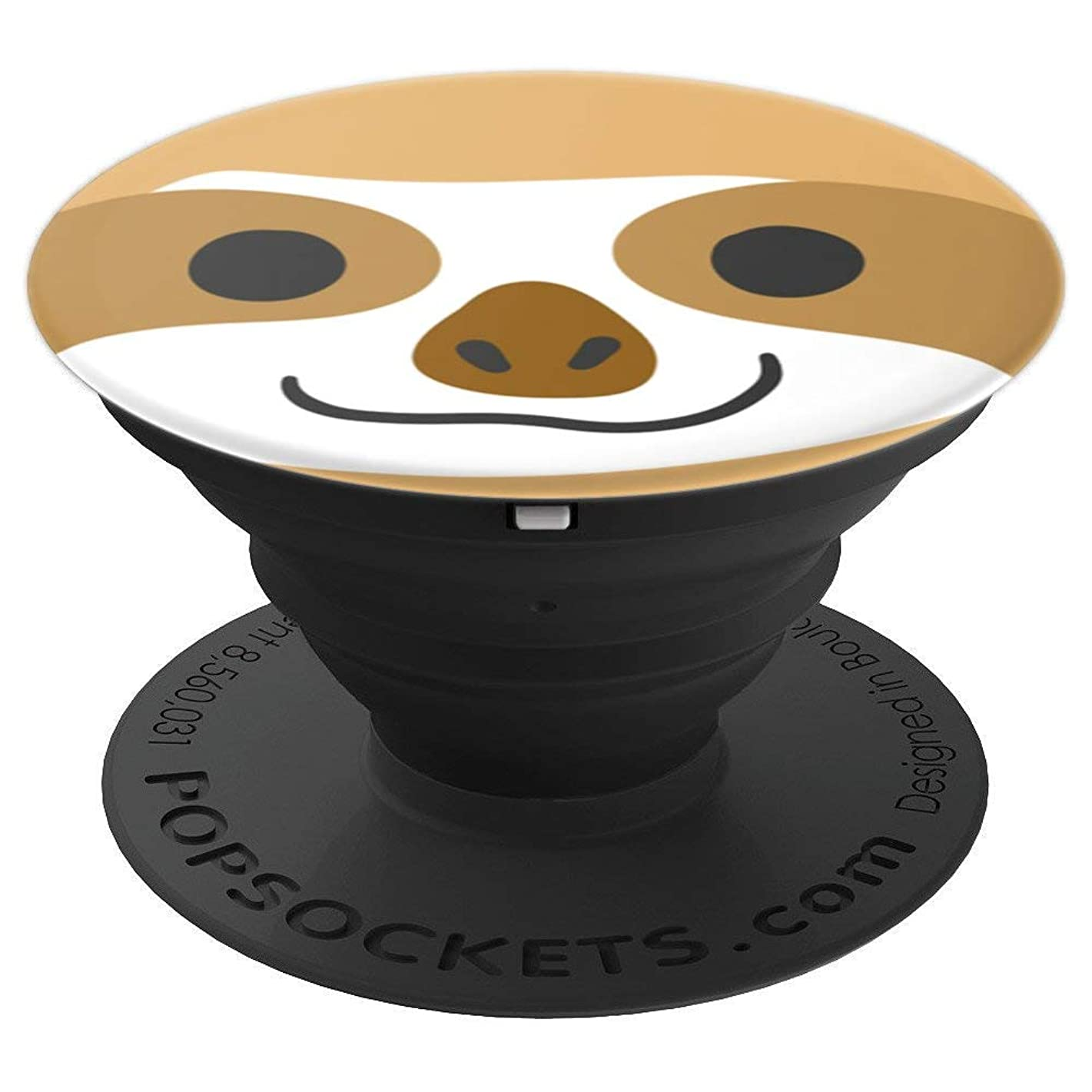 Awayk Sloth Pop Phone Grip For Smartphones & Tablets - PopSockets Grip and Stand for Phones and Tablets