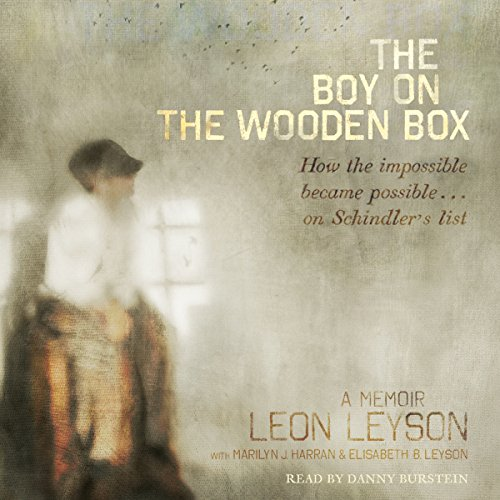 The Boy on the Wooden Box                   By:                                                                                                                                 Leon Leyson,                                                                                        Marilyn J. Harran (contributor)                               Narrated by:                                                                                                                                 Danny Burstein                      Length: 4 hrs and 14 mins     528 ratings     Overall 4.7