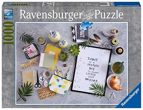 Ravensburger Puzzle 19829 - Start living your dream - 1000 Teile Puzzle für Erwachsene und Kinder ab 14 Jahren