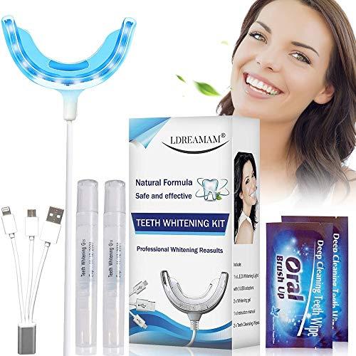 Zahnaufhellung Set, Zahnaufhellung Kit, Weiße Zähne Bleaching, Weiße Zähne Bleaching, Home Bleaching Kit,gegen Gelbe Zähne,rauchflecken,schwarze Zähne