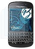 Bruni Schutzfolie kompatibel mit BlackBerry Q10 Folie, glasklare Bildschirmschutzfolie (2X)