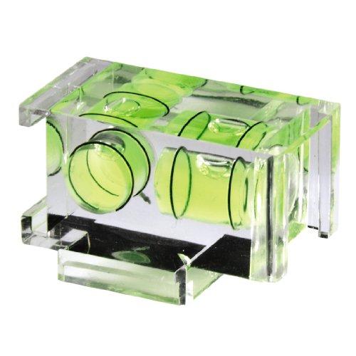 Hama Kamera-Wasserwaage mit 2 Libellen, Für Sony/Minolta, Transparentes Gehäuse