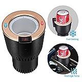 Scaldabicchieri per auto, per raffreddare bevande, lattine, caffè in pochi minuti, 12 V, ...