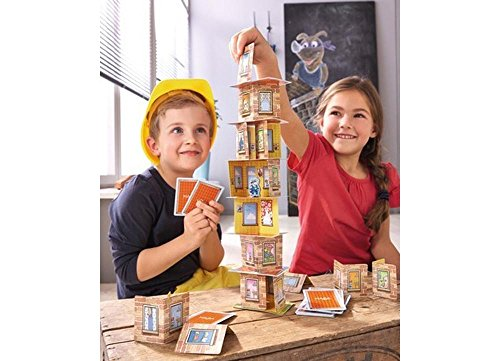 Image of HABA Rhino Hero A Heroic Stacking Card Game for Ages 5 and Up - Triple Award Winner