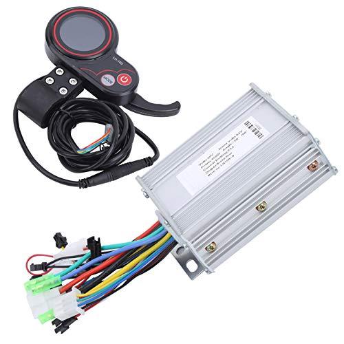 Resistente al desgaste robusto duradero controlador LCD pulgar Shifter eléctrico Scooter Motor Controlador para entretenimiento en casa para entrenamiento competición (450W)