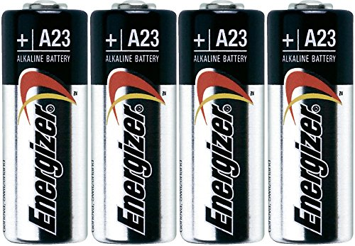 Energizer A23 Battery, 12V (Pack of 4)