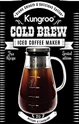 Image of Kungroo Airtight Glass Cold Brew Iced Coffee Maker Pitcher Pot, 1 Quart: Bestviewsreviews