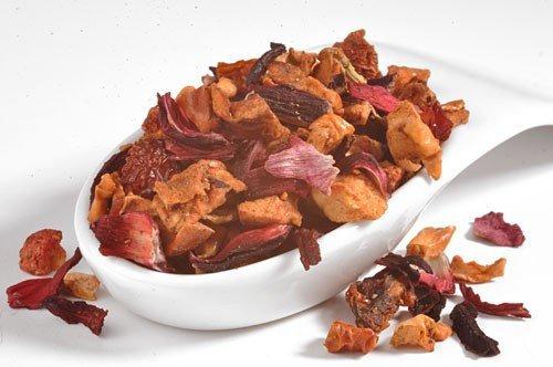 Erdbeer-Blutorange Früchtetee, 100% Früchte-PREMIUM, warm & kalt, ohne künstliche Aromen, 100g - Bremer Gewürzhandel