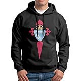 Men Celta De Vigo Logo Customized Cool 100% Cotton Hoodie