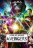 Livre de dessin Avengers: Dessine étape par étape Thor, Iron man, Ant man, Spiderman et bien d'autres / Pour enfants et adultes