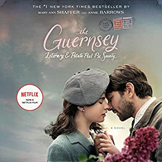 The Guernsey Literary and Potato Peel Pie Society audiobook cover art