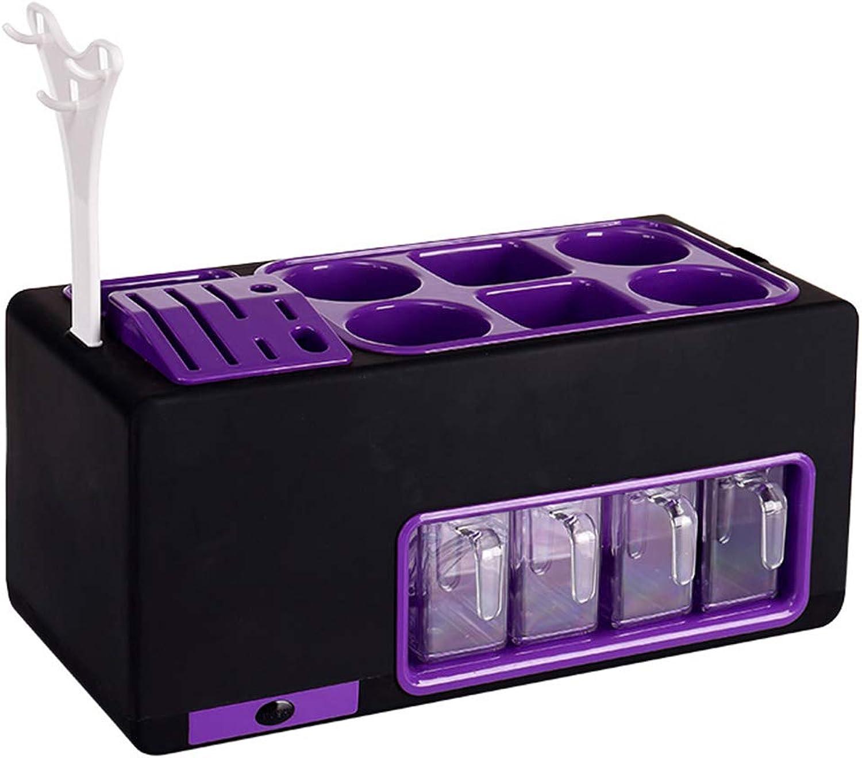 HTTDIAN Kitchen Set Combination Knife Holder Kitchen Rack Seasoning Box Seasoning can Bottle Set Storage (color   C)