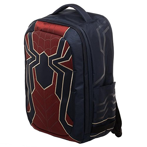 Marvel Spider-Man New Avengers Superhero Costume Tech Laptop Backpack Bag